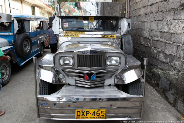Общественный транспорт на Филиппинах (50 фото)