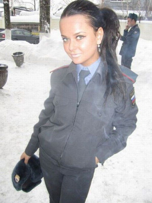 Госпожа полицейская Настя