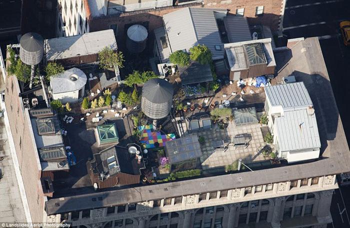 Необычные крыши Нью-Йорка