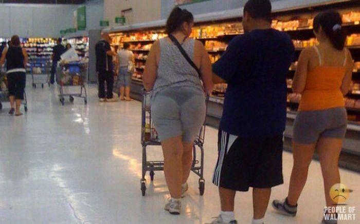 Забавные люди из американских супермаркетов