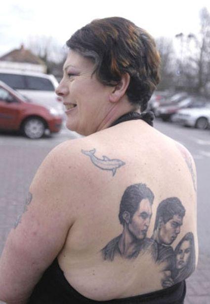 Татуировка с любимым кумиром