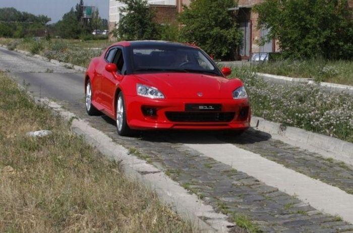 Спортивный пятидверный купе от ТАГАЗ (4 фото)