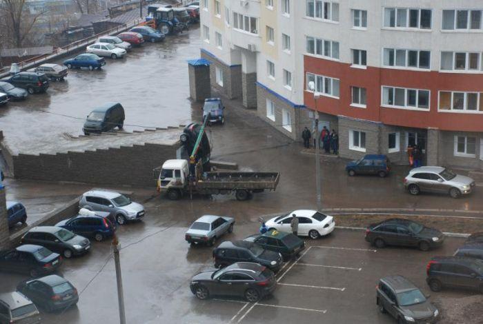 Мастерство парковки (14 фото)