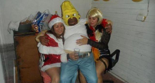 Нелепые смешные фото пьяных и голых
