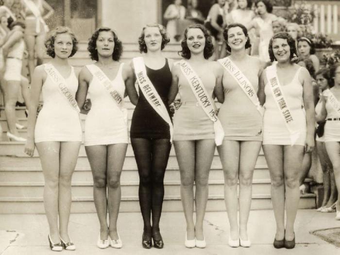 Конкурсы красоты в Америке (17 фото)