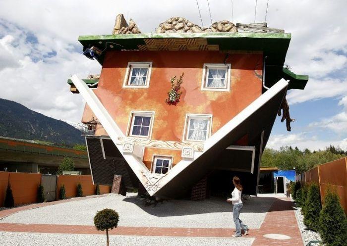 Необычный дом в Австрии (9 фото)