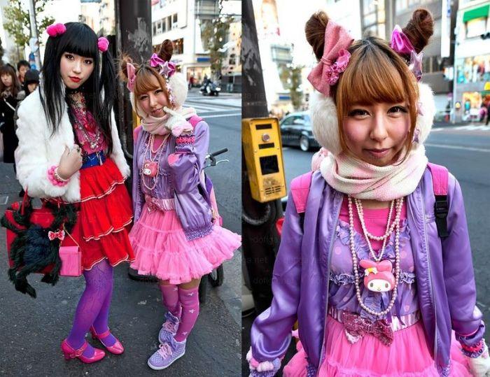 Японская уличная мода (40 фото)