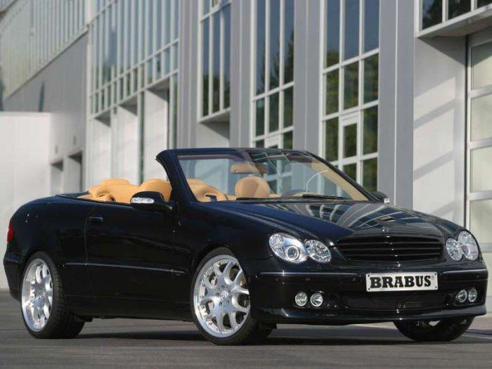 Brabus Mercedes-Benz CLK