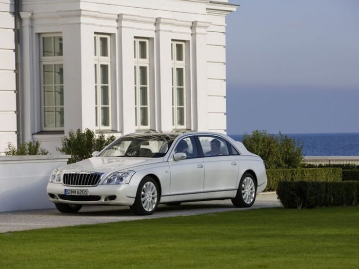 Maybach Type 62S Landaulet