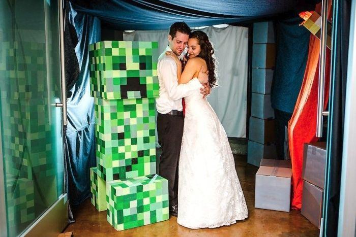 Свадебный Minecraft (63 фото)