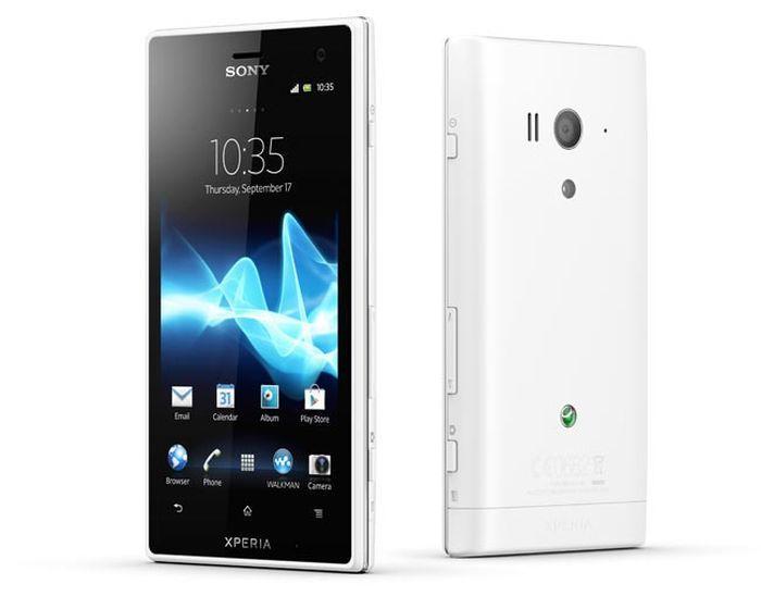 Sony анонсировала смартфон Xperia Acro S