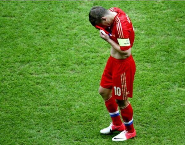 Самые ужасные провалы сборной России по футболу