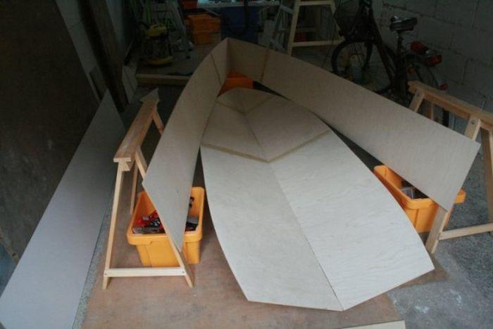 самодельные лодки из фанеры и стеклопластика
