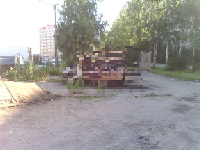 Жестокая борьба за парковку (3 фото)