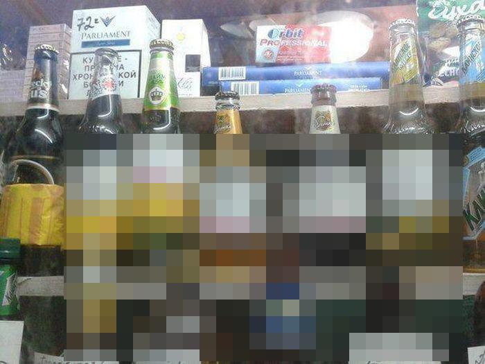 Как ночью продается пиво (фото)