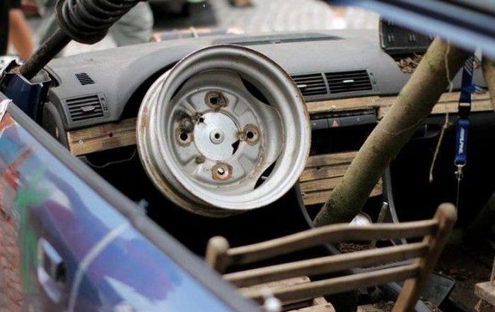 Антитюнинг странных автомобилей (7 фото)