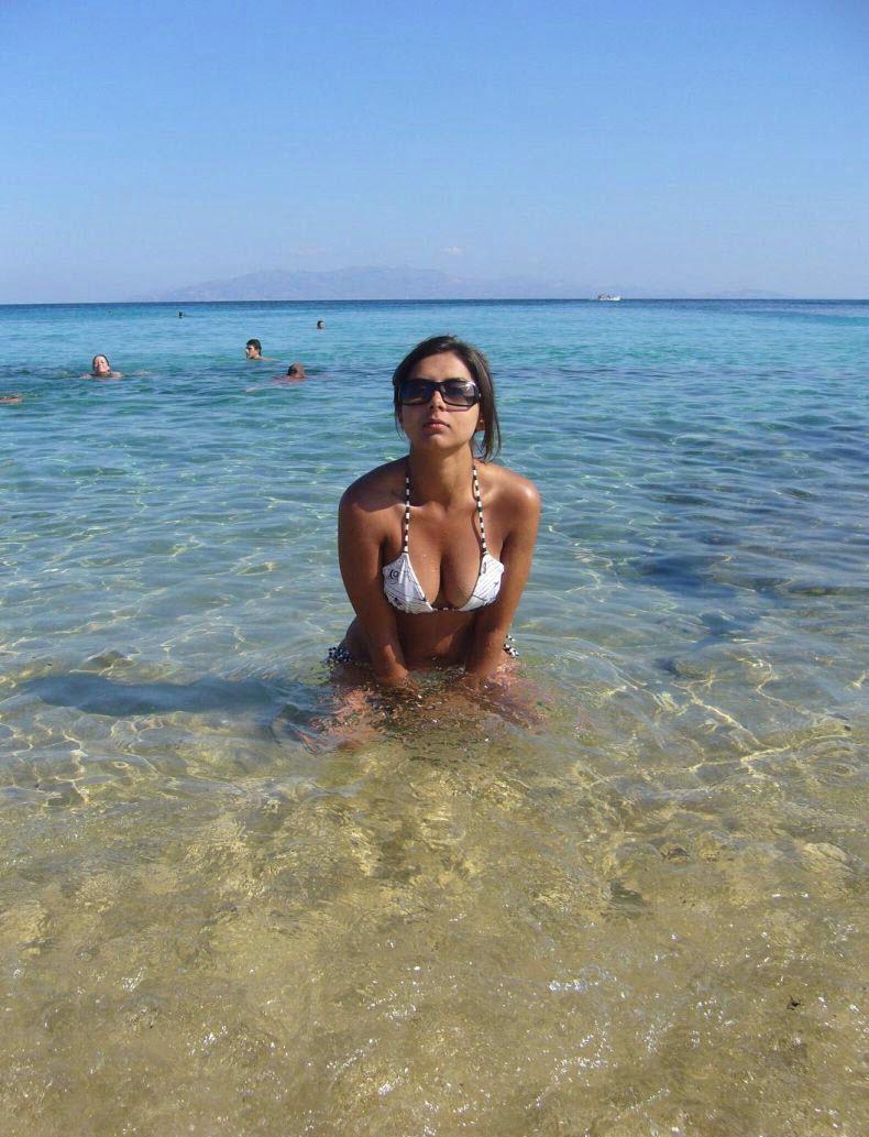 Фото красивых девушек на пляже турции частное 12 фотография