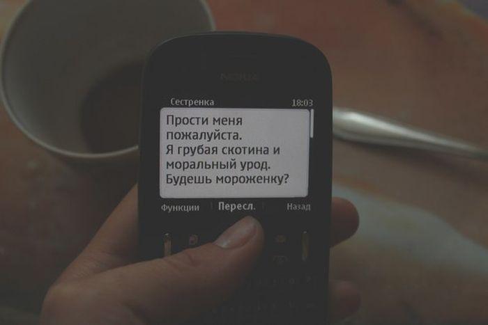 Смешные СМС-переписки (36 фото)