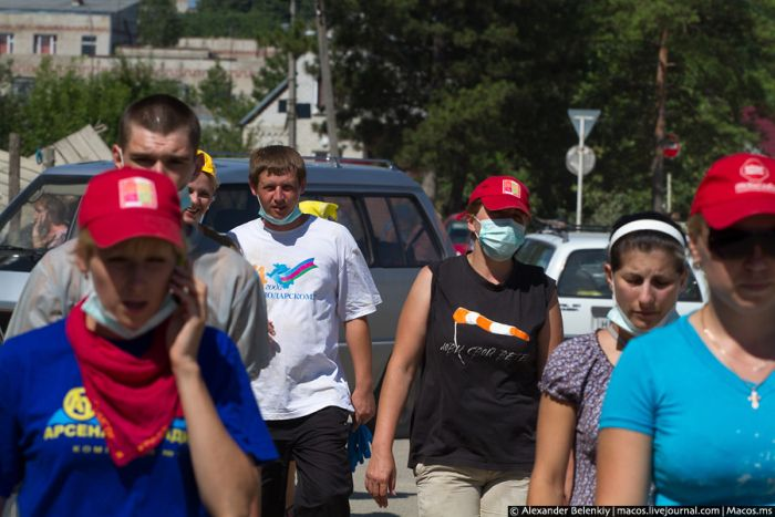 Ужасные снимки после наводнения в Крымске (63 фото)