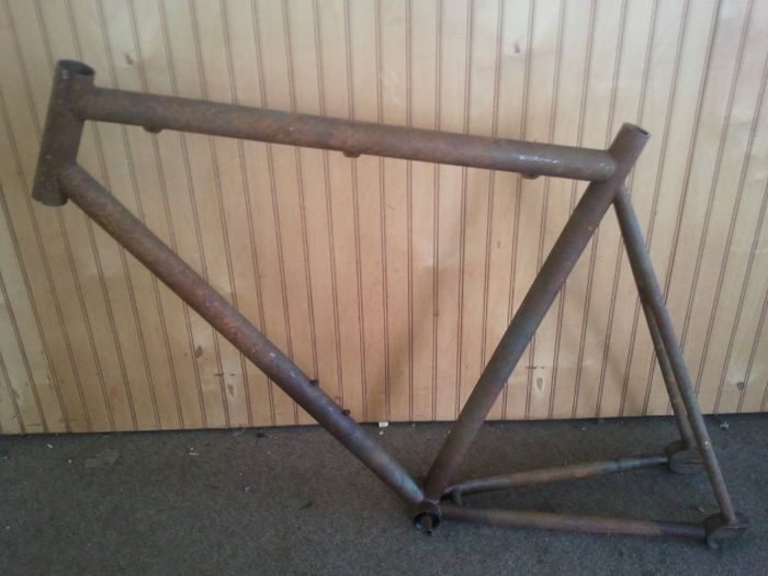 Рама на велосипед своими руками