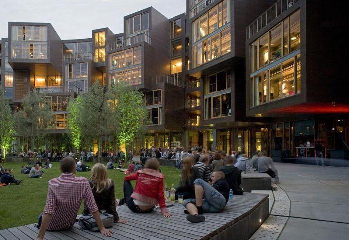 Необычное студенческое общежитие (25 фото)