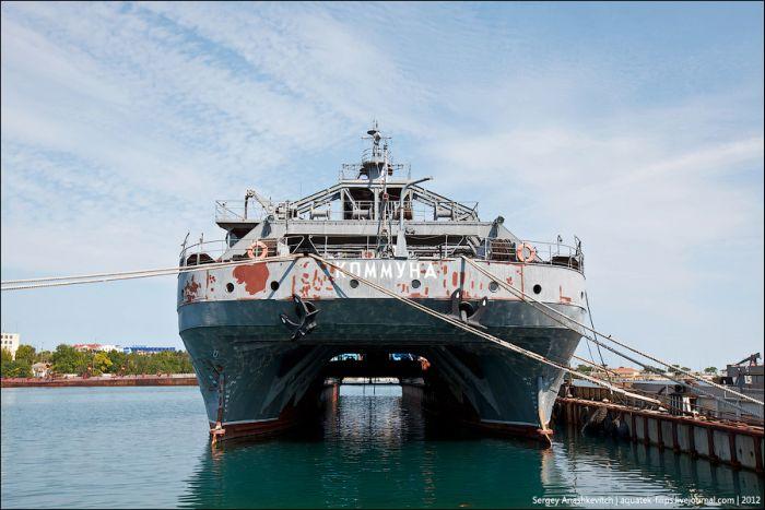 Старейшее судно ВМФ России