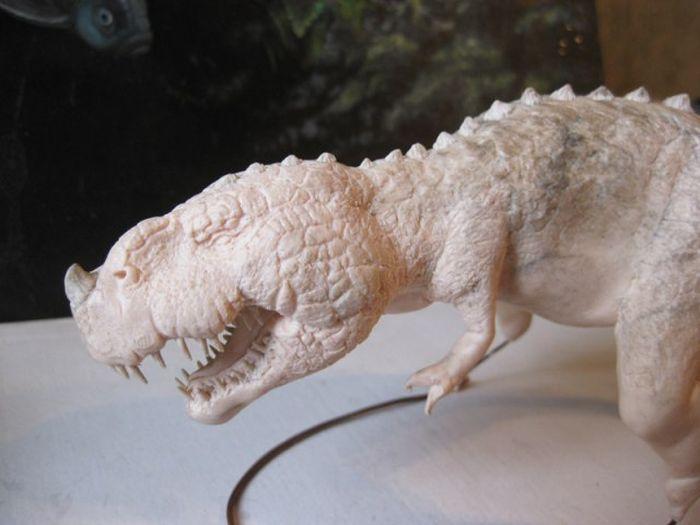 Удивительный динозаврик своими руками (49 фото)