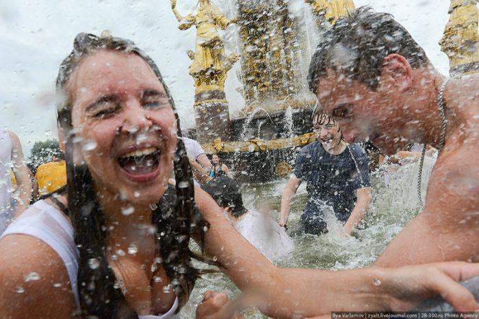 Водная Битва в Москве (65 фото)