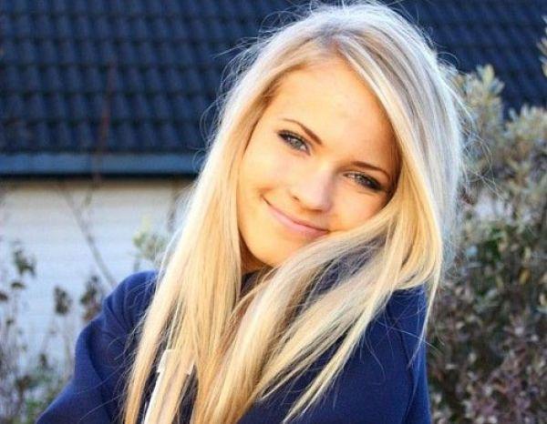 фотосессия одной красивой девушки