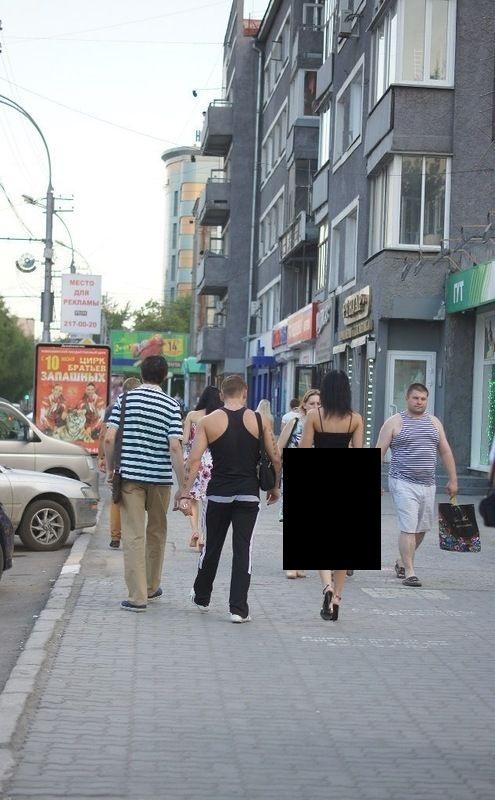 Модница Новосибирска (2 фото)