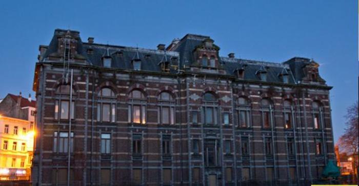 Заброшенная школа ветеринаров в Брюсселе