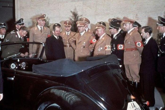 Снимки с 50-летнего юбиля Адольфа Гитлера