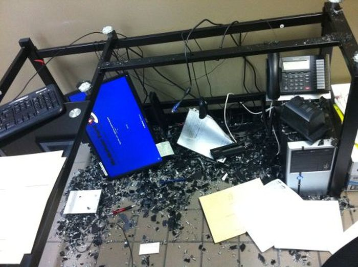 Неудачи на рабочем месте (50 фото)
