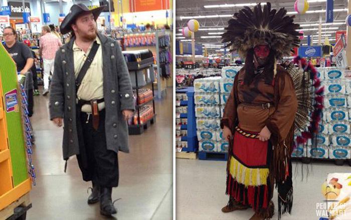 Забавные люди из супермаркетов (55 фото)