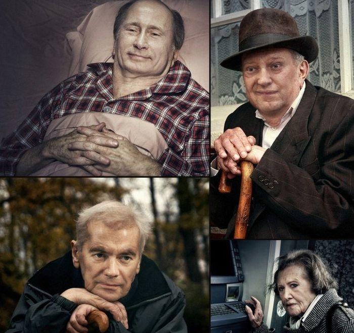 Молодость и старость прикольные картинки