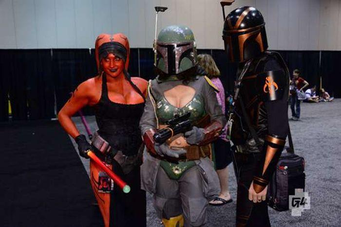 Косплееры на праздновании VI Star Wars (67 фото)
