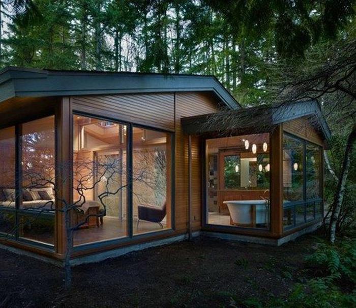 Интересные дизайнерские решения и интерьеры домов