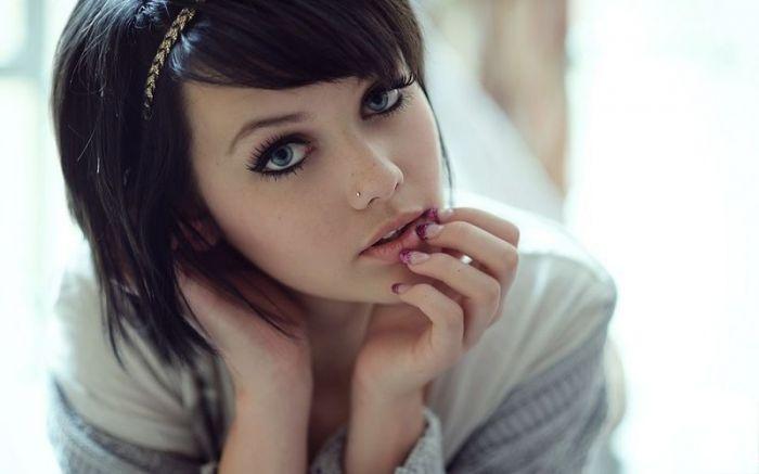 Симпатичные девушки из соц сетей