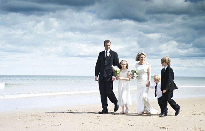 Незабываемые свадебные фотографии (10 фото)