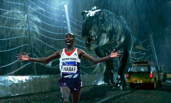 Забавная фотожаба на британского спортсмена (27 фото)