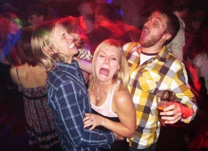 Отрыв молодежи в ночных клубах (50 фото)