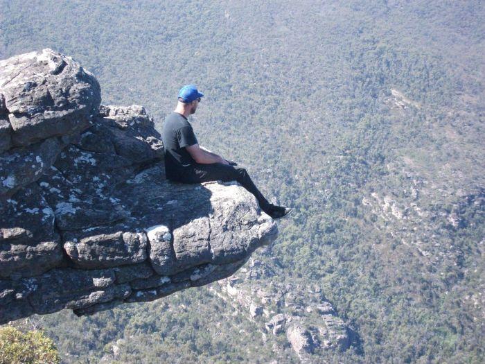Бесстрашные люди! Совершенно не боятся высоты