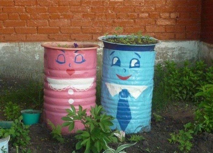 Своими руками украсить свой двор