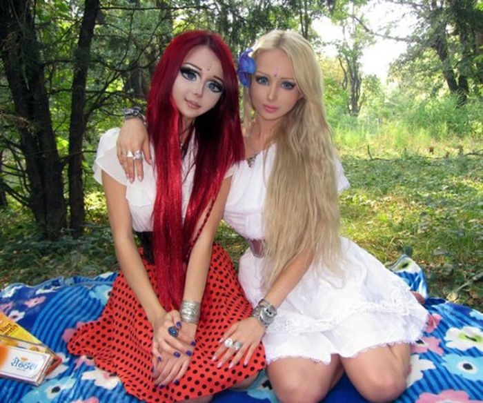 Живая кукла из Украины Анастасия Шпагина (27 фото)