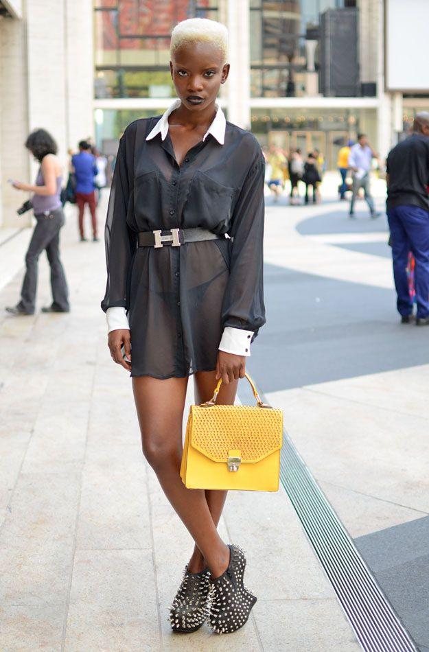 Модники и модницы Нью-Йорка (21 фото)