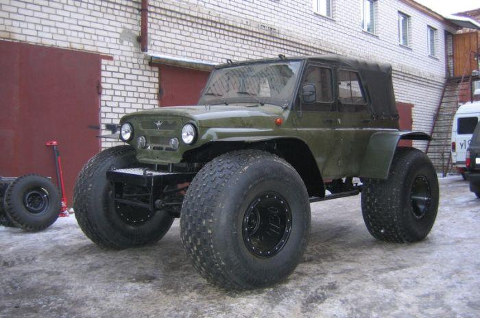 Тюнинг лучшего российского внедорожника УАЗ (40 фото)
