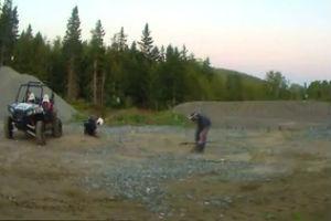 Дурочки с ружьём на стрельбище