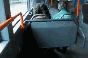 Троллинг в общественном транспорте