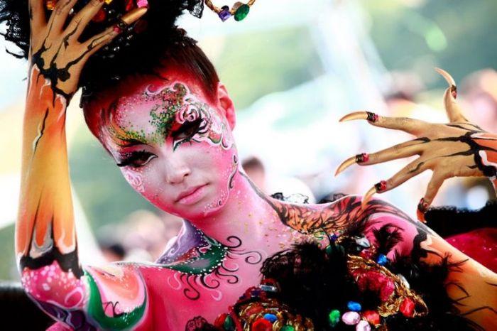 Фестиваль боди-арта в Южной Корее (40 фото)