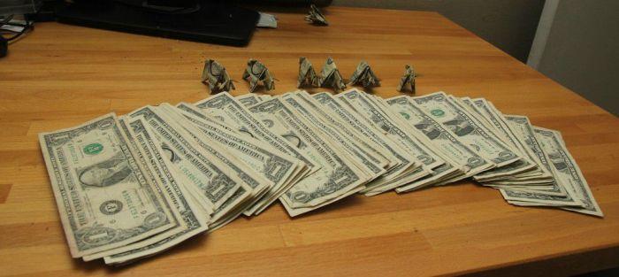 Оригинальный способ оплаты штрафной квитанции  (9 фото)